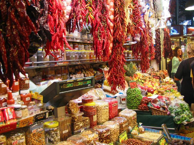 Boquiera Market Stall